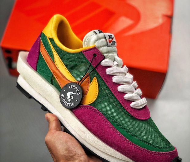 felicidad escándalo Alexander Graham Bell  hyperoomprive | Nike LD Waffle Sacai Pine Green Del Sol